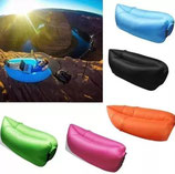 SOFA SILLON INFLABLE PORTATIL CAMA PLAYA,CAMPING, PASEOS