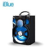 PARLANTE IBLUE BLUETOOTH ILUMINADO USB/MICRO SD/FM 15W-600MAH