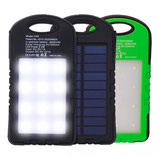 CARGADOR PORTATIL SOLAR POWER BANK 12000MAH LED