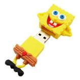 Generic - USB 8GB Bob Esponja - Amarillo