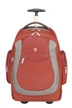 "MOCHILA SUMDEX ALTI-PAC ROLLING BACKPACK 15.4"" RED"