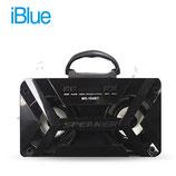 PARLANTE IBLUE BLUETOOTH ILUMINADO HS-184BT USB/MICRO SD/FM BLACK