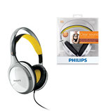 AUDIFONO PHILIPS SHL9560 CLEAR SOUND WHITE/YELLOW