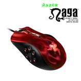 MOUSE RAZER NAGA EXPERT MOBA GAMING USB RED