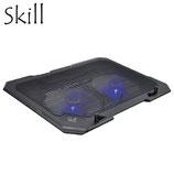 "COOLER SKILL P/NOTEBOOK S302-BK 15.6"" USB BLACK"