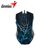 MOUSE GENIUS X-G300 LIGTHING USB GAMING BLACK/BLUE