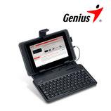 ESTUCHE + TECLADO GENIUS P/TABLET PC LUXEPAD A120 SP BLACK