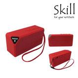PARLANTE SKILL BLUETOOTH B-400 RECTANGLE  3W/MICRO USB POWER/MICRO SD