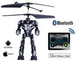 ROBOT  VOLADOR  BLUETOOTH  CONTROL DESDE EL SMARTPHONE ANDROID / IPHONE