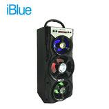 PARLANTE IBLUE BLUETOOTH ILUMINADO USB/MICRO SD/FM 10W-800MAH