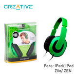 AUDIFONO CREATIVE HQ-1600 P/IPAD/IPOD/ZEN/ZIIO