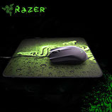 MOUSE RAZER ABYSSUS 1800 USB + PAD MOUSE GOLIATHUS SPEED GAMING BLACK