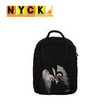 MOCHILA NYCK TRAVELER LIZ FLOWER BACKPACK 14.1' BLACK
