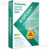 INTERNET SECURITY KASPERSKY 2011 3 PC