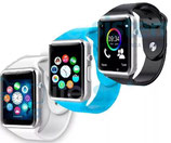 SMART WATCH RELOJ PARA ANDROID / IPHONE , BLUETOOTH, CAMARA , CHIP, MUSICA