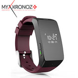 RELOJ INTELIGENTE MYKRONOZ ZEWATCH2 BLUETOOTH BURGUNDY