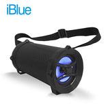 PARLANTE IBLUE BAZOOKA BLUETOOTH USB/MICRO SD/FM/AUX 5W BLACK