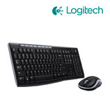 TECLADO LOGITECH + MOUSE MK270 WIRELESS USB BLACK