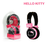 AUDIFONO HELLO KITTY FOLDABLE STEREO BLACK/PINK