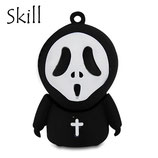 MEMORIA SKILL USB FLASH DRIVE 8GB SCARY DEATH