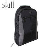 "MOCHILA SKILL BACKPACK 15.6"" BLACK/GREY"