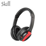AUDIFONO SKILL DEEP BASS STEREO BLUETOOTH BLACK/RED