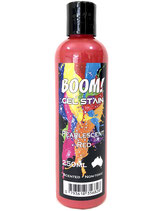 Pearlescent Red Boom Gel Stain 250ml