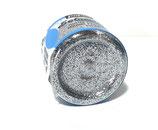 Silver Glitter Powder Pebeo Setacolor 10 gr.