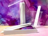 Reusable plastic stir sticks 10 piece set
