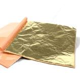 GOLD LEAF 14x14cm 24 pack