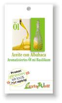 Basilikumöl - Aromatisiertes Öl mit Basilikum
