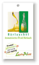 Bärlauchöl - Aromatisiertes Öl mit Bärlauch