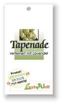 Tapenade verfeinert mit Lavendel - Olivenpaste