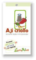 """""""Aji Criollo"""" - Scharfe Soße mit frischem Koriander"""