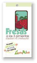 """""""Fresas a las 3 pimientas """" - Erdbeeren in Drei-Pfeffersorten-Soße"""
