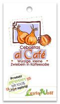 """""""Cebollitas al café"""" - Würzige Zwiebelchen in Kaffeesoße"""