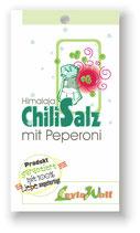 Chilisalz - Himalajasalz mit Peperoni