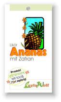 """""""Licor de piña y azafrán"""" - Ananaslikör mit Safran"""