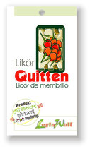 """Licor de membrillo"" - Quittenlikör"