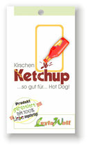 Kirchen-Ketchup - so gut für...Hot Dog!