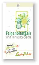 Feigenblattsalz - Himalajasalz mit Feigenblatt