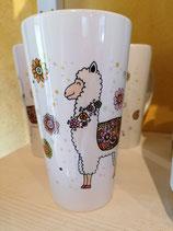 Latte Tasse Alpaka