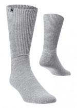 Alpaka Soft Socken silbergrau