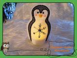 Teelichthülle Pinguin -4-