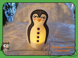 Teelichthülle Pinguin -3-