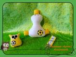 Fußball-Set gelb