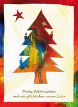 """Faltkarte """"Christbaum Freude"""""""