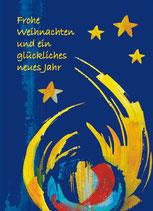 """Faltkarte """"Lichterglanz"""""""