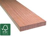 Cumaru, FSC 100%, Terrassendielen, 25x145x3050 mm, KD, glatt/glatt
