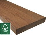 Ipé, FSC 100%, Terrassendielen, 21x145x1850 mm, AD, glatt/glatt